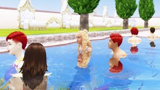 I Made People Swim Until They Died - The Sims 4