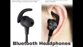 Bluetooth Headphones TaoTronics Wireless 4 2 Magnetic Earbuds - Wireless Headphones