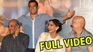 Prem Ratan Dhan Payo | Trailer Launch | Salman Khan | Sonam Kapoor | Sooraj Barjatya - FULL VIDEO