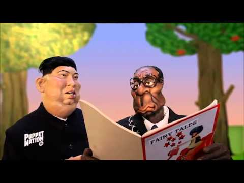Robert Mugabe and Kim Jong Un go Gangnam style over Snow White (Puppet Nation ZA)