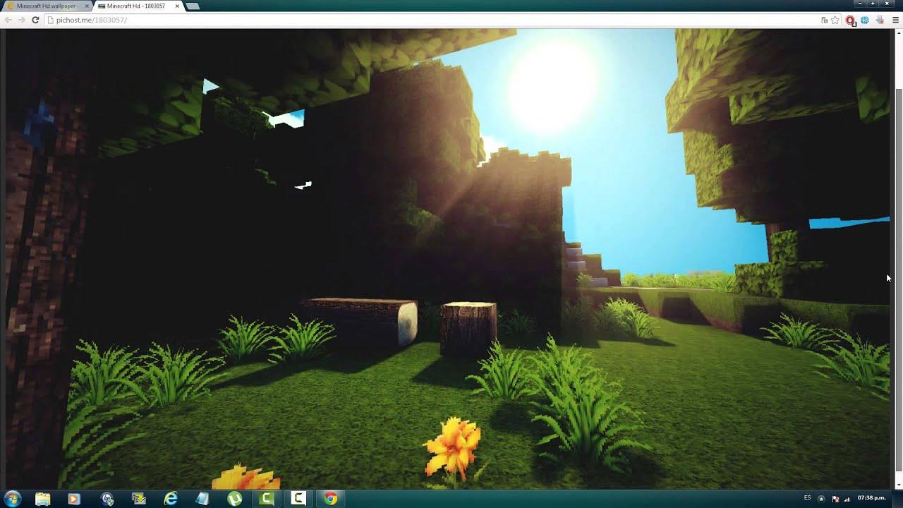 Como descargar fondos de pantalla de minecraft en full hd for Imagenes para fondo de pantalla para laptop
