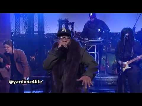 "Big Boi Performs ""Apple Of My Eye"" on Letterman"