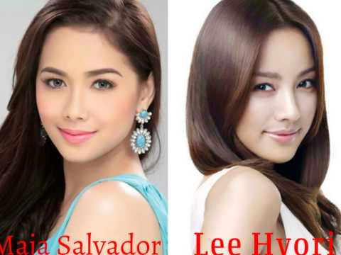 Filipina & Korean Actresses