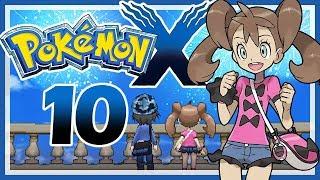 POKÉMON X # 10 🗼 Ein Feuerwerk für Sannah und mich! [HD60] Let's Play Pokémon X
