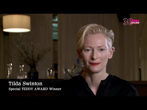 Talk with Tilda Swinton, TEDDY AWARD Winner in 1988 and 2008