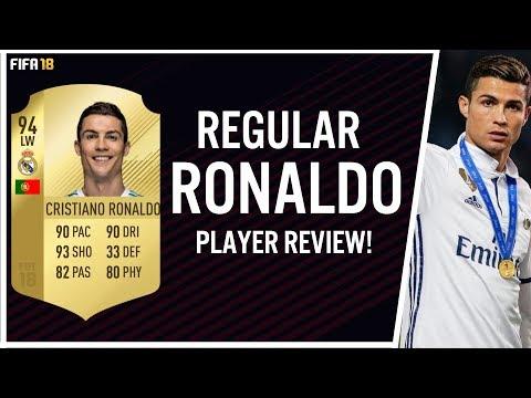 FIFA 18  CRISTIANO RONALDO (94) PLAYER REVIEW! | FIFA 18 ULTIMATE TEAM