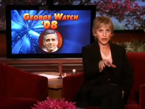 Ellen Tries to Trap George Clooney, But Gets Caught Herself!
