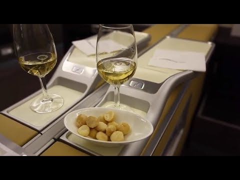 LH779 SIN-FRA Lufthansa First Class Suites Singapore to Frankfurt Airbus A380 1080p