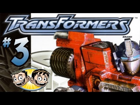 Transformers PS2 Cheats Playthrough - PART 3 - Big Head Cyclonus - BroBrahs
