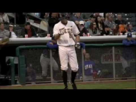 Salt Lake Bees Walkup song - Terry Evans Video