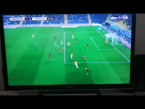 Fenerbahçe 1-0 Malatya gol Ozan Tufan