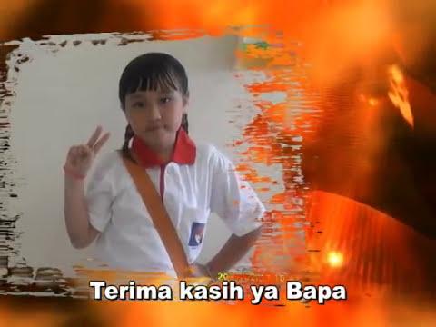 KASIH diciptakandinyanyikan GABY (10 th) dlm 3 bahasa (IndonesiaInggris...