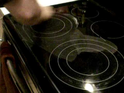 How To Clean A Glass Top Stove Youtube