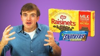 Irish People Taste Test American Chocolate Treats