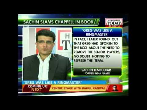 News Today At Nine: Sourav Ganguly on Greg Chappell, and Sachin's confession