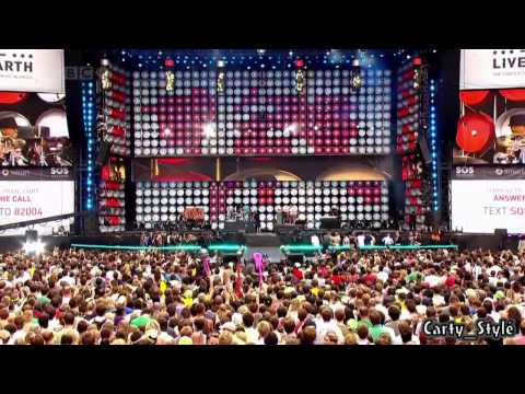 Black Eyed Peas - Pump It Sos | Live Earth | Hd video