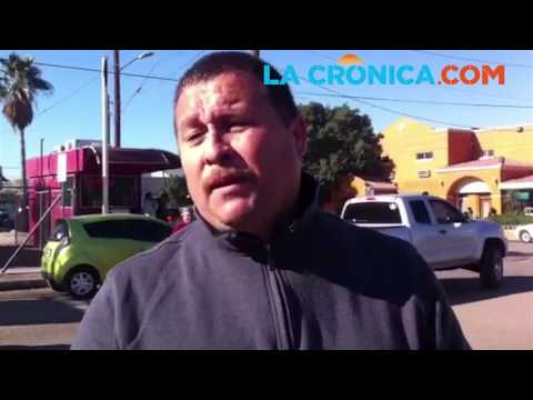 Importadores de autos en San Luis Río Colorado se manifiestan en garita