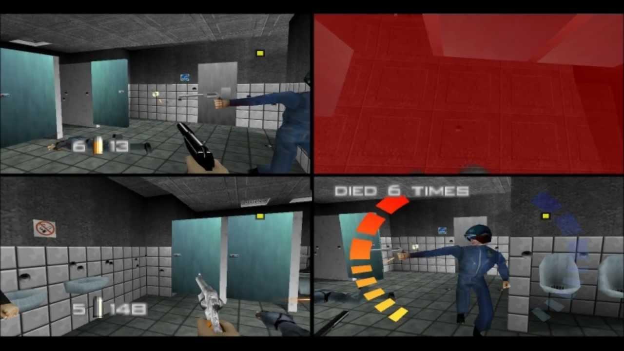Goldeneye 007 N64 Online 4p Battle Ltk In Bathroom