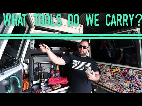 Tools & spares we carry in our Nissan Patrol