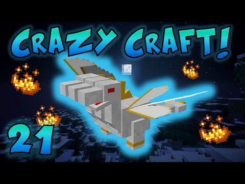 Minecraft: Crazy Craft Ep. 21 - PRINCE TRAINING