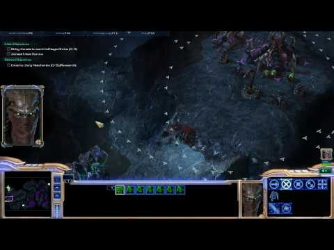 StarCraft 2 - Whispers of Doom (Zeratul mission) - 3rd Hatchery Location