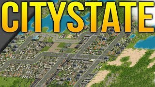 Citystate - Politics & City Building - New Pixel City Builder - Citystate Gameplay Part 1