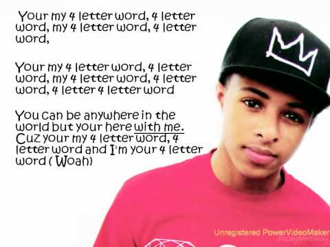 Diggy Simmons - 4 Letter Word [Lyrics]