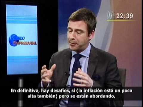 Oxford Business Group: Andrew Jeffreys interviewed on Mundo Empresarial