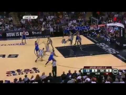 Golden State Warriors Vs San Antonio Spurs - NBA Playoffs 2013 Game 2 - Full Highlights 5/8/13