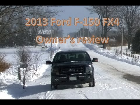2013 Ford F-150 FX4 Owner's review and information