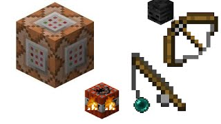 Minecraft One Command Block Creation | More Tools And Weapons