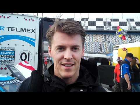 Rolex 24 Hours at Daytona: Alex Gurney & Travis Pastrana Interview - CAR and DRIVER