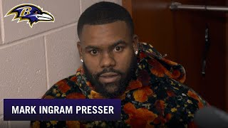Mark Ingram Full Press Conference After Beating Jets | Baltimore Ravens
