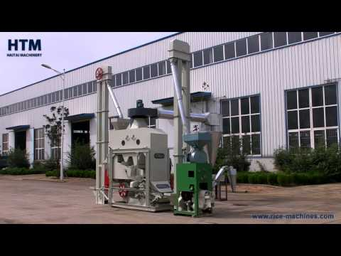 XCT Automatic Mini Rice Mill Plant