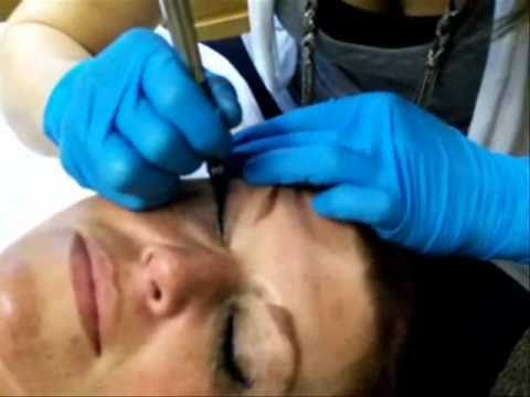 Cosmetic Tattooing Permanent Eyeliner - Upper Eyelid