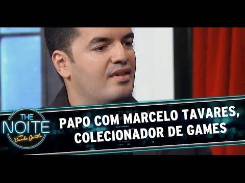 The Noite (03/10/14) - Entrevista com Marcelo Tavares, colecionador de games