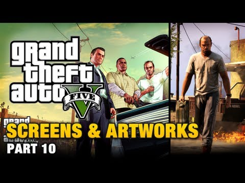 GTA 5 - Screenshots Analysis + HD Artworks (January 2013) [Part 10]