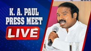 KA Paul LIVE | Press Meet From Delhi | ABN LIVE