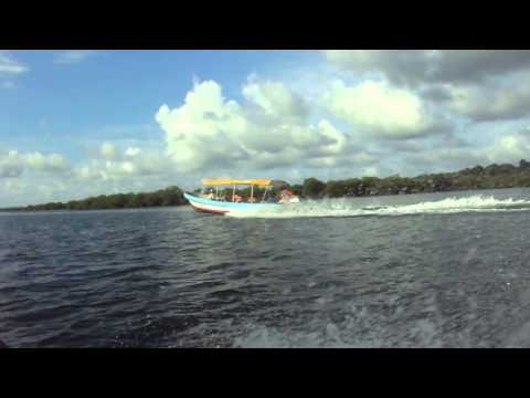 Carreras Lanchas, Bocas del Toro, Panama.