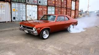 1971 Chevy Nova SS Burnout