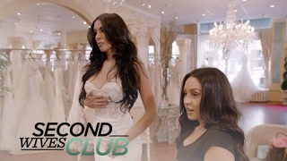 Tania Mehra Tries on Wedding Dresses | Second Wives Club | E!