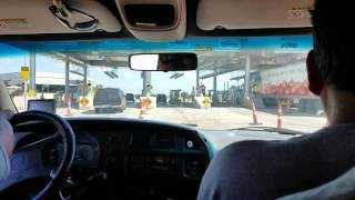 Immigration checkpoint in Laredo Texas