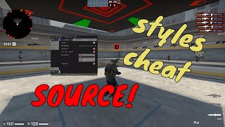 STYLES RECODE SOURCE AKA STICKRPGHOOK - DLL + SOURCE | FREE CSGO HVH CHEAT