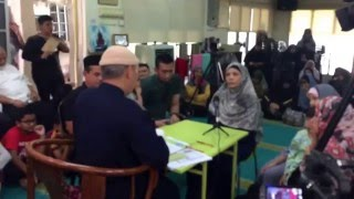 A sister of Philippine nation converted to islam at Al-khadeem.