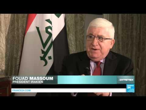 """""""Les combats contre l'EI tournent en faveur de l'Irak"""", dit le président Massoum"""