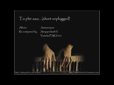 To phir aao (piano)