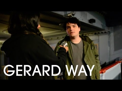 Gerard Way Interview 2015, Toronto Canada