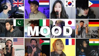 who Sang It Better :24kGoldn - Mood ft. iann dior 12 different cotries
