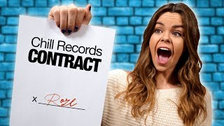 I Signed To A Record Label!