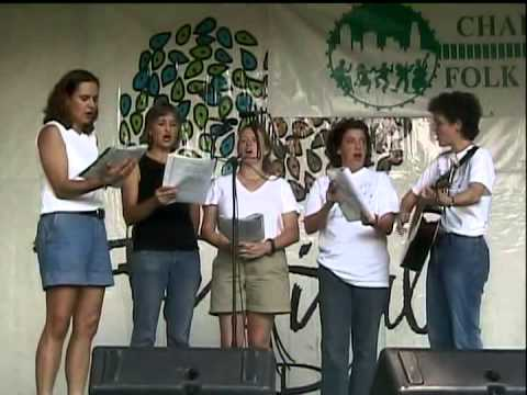 Community Singers 2004 member showcase, festival in the park, Smith Language Academy with St  Pat's